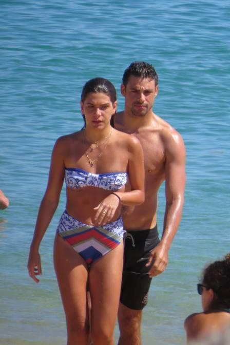 Cauã Reymond e Mariana Goldfarb (Crédito: Cristiana Silva)