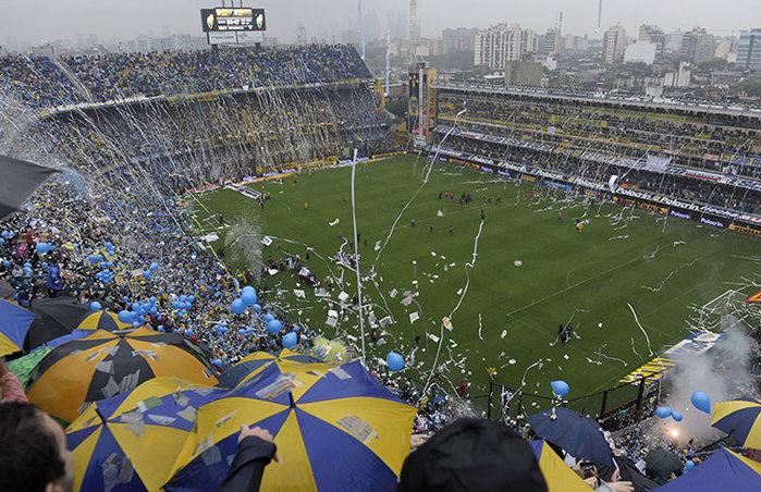 Estádio La Bombonera. Chineses querem firmar acordo com validade até 2027 (Crédito: Reprodução)