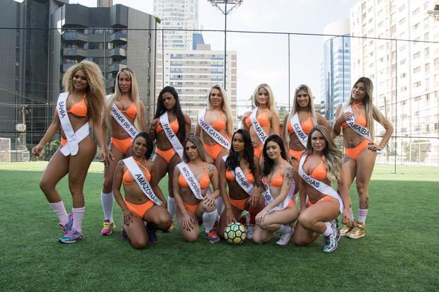 Candidatas ao Miss Bumbum (Crédito: Ego)
