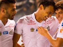 Na volta de trio olímpico, Santos derrota Vasco com facilidade
