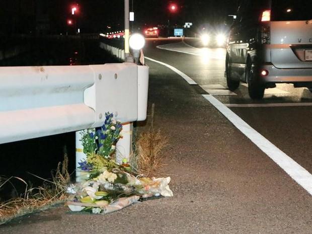 Local onde pedestre foi atropelada por caminhoneiro jogando Pokémon Go (Crédito: Reuters)