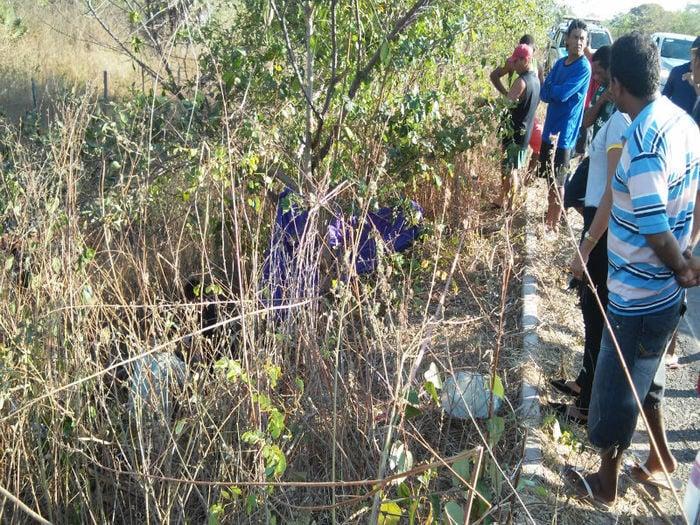 Corpo enconrtado próximo de uma Ponte na PI-112 (Crédito: Clique União)
