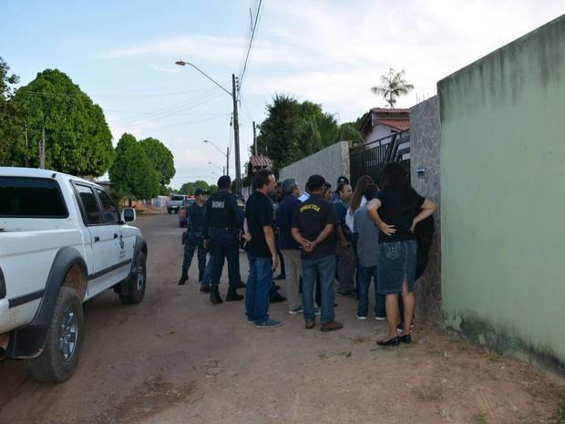 Local onde as nove venezuelanas foram encontrados (Crédito: : Divulgação/TJRR)