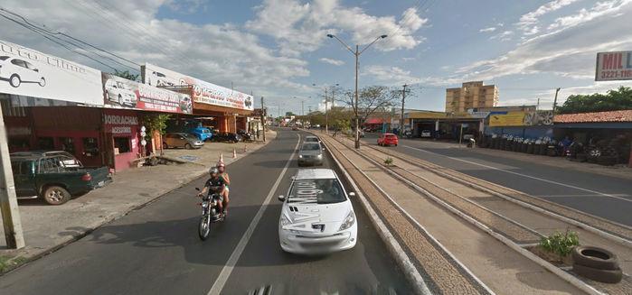 Avenida Miguel Rosa (Crédito: Reprodução)
