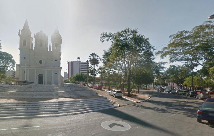 Largada e chegada serão no adro da Igreja São Benedito (Crédito: Reprodução)