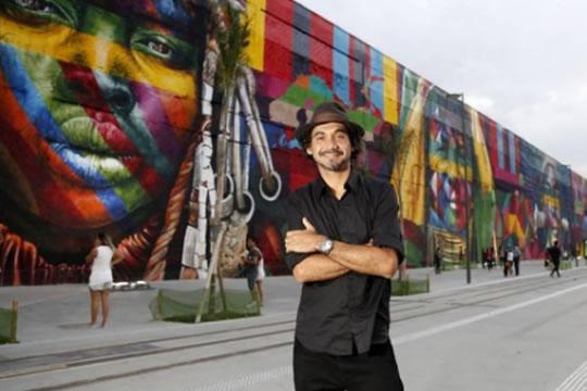 Guinness elege mural das olimpíadas como maior grafite do mundo
