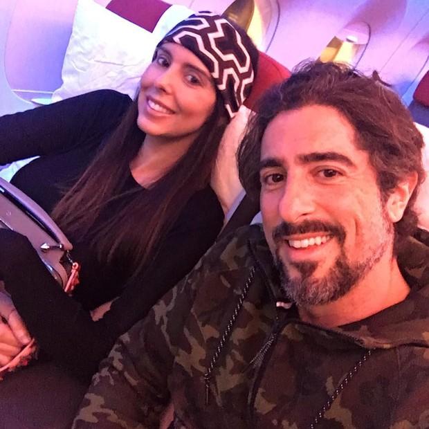 Suzana Gullo e Marcos Mion  (Crédito: Reprodução)