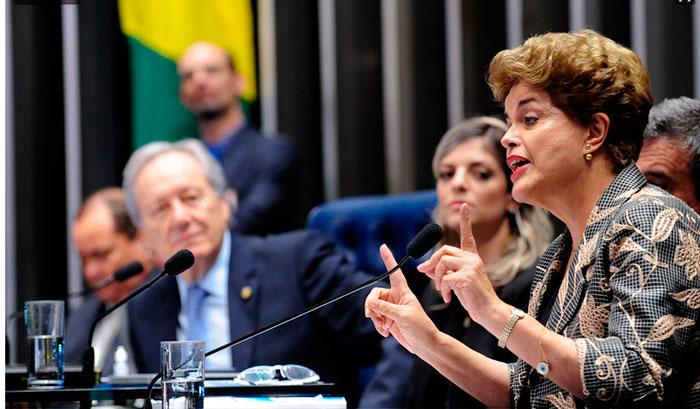 Dilma Rousseff (Crédito: Agência Senado)