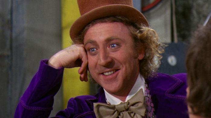 Gene Wilder como Willy Wonka (Crédito: Reprodução)