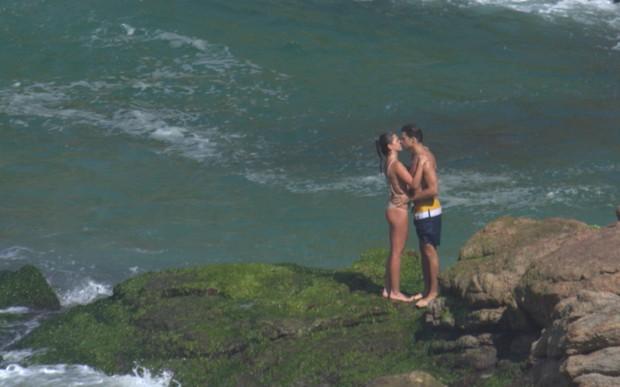 Cauã Reymond e Mariana Goldfarb  (Crédito: Agnews)