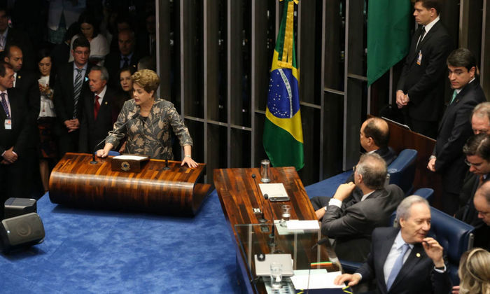 """Dilma diz que """"só o povo"""" afasta pelo conjunto da obra - Imagem 4"""