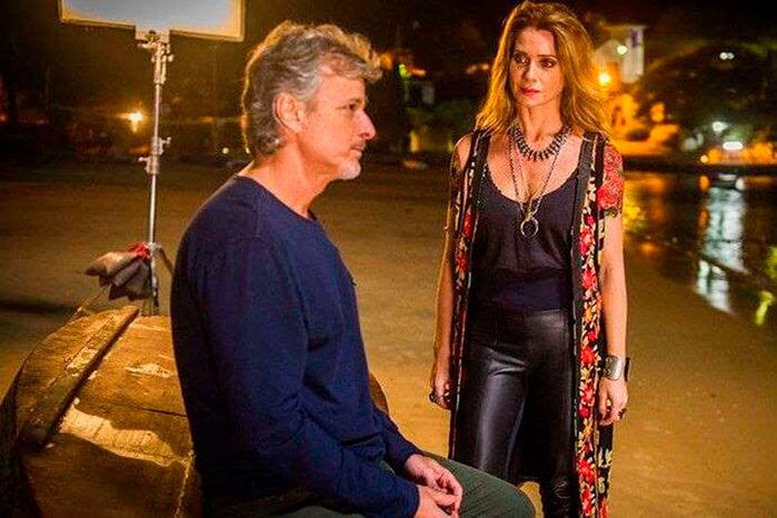 Letícia Spiller e Marcello Novaes (Crédito: Divulgação)