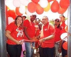 Partido dos Trabalhadores inaugura comitê político