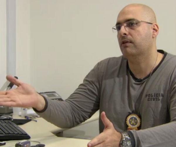 Delegado Felipe Curi foi baleado em megaoperação no Conjunto de Favelas do Alemão