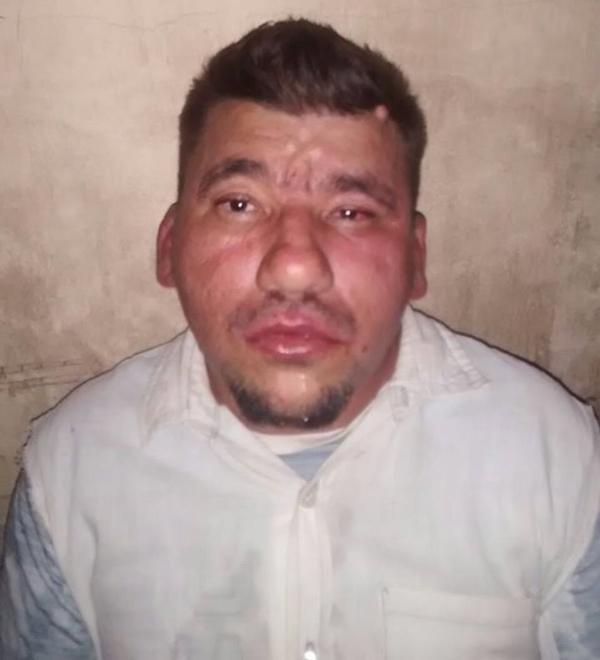 Acusado foi preso (Crédito: Polícia Militar)