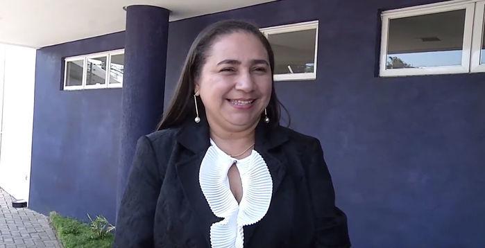 Vereadora Cida Santiago não foi lembrada na pesquisa (Crédito: Reprodução)