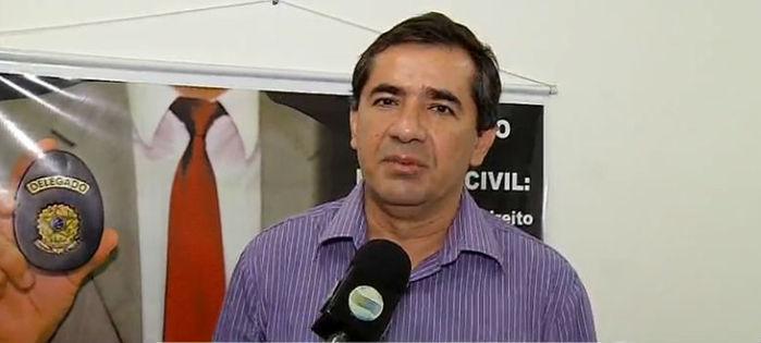 Delegado Willame Morares, da Gerência de Policiamento do Interior (Crédito: Rede Meio Norte)