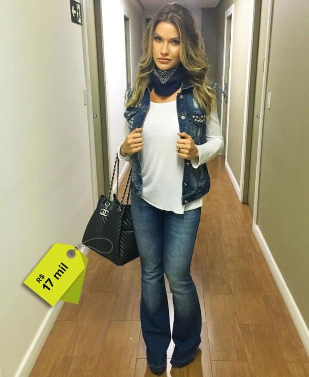 Mulher de Gustavo Lima tem coleção de bolsas avaliada em R$ 100 mil (Crédito: Reprodução)