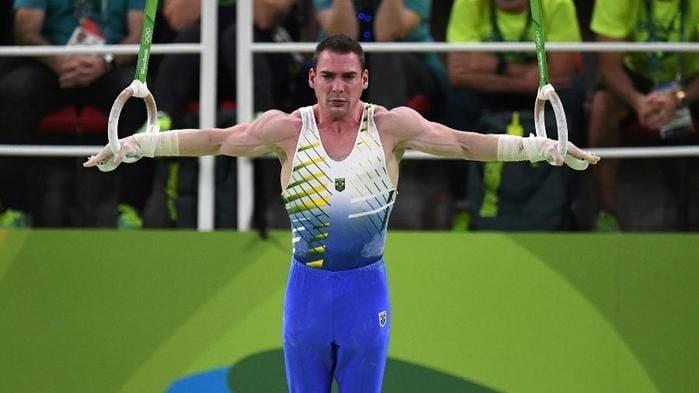 Arthur Zanetti compete na final de argolas para levar a prata nas Olimpíadas do Rio (Crédito: Nopp)