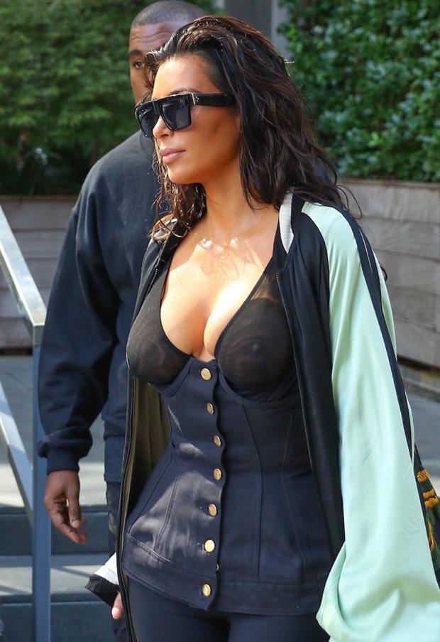 Kim Kardashian  (Crédito: AKM-GSI)