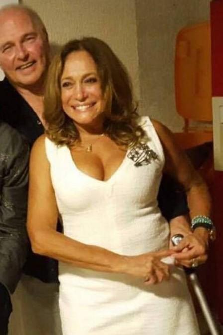 Susana Vieira está namorando francês  (Crédito: Reprodução/ Facebook )
