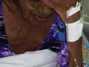 Idosa dfe 78 anos vítima dos abusos (Crédito: Divulgação)