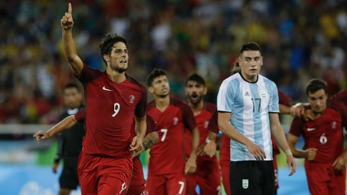 Portugal venceu Argentina (Crédito: AFP)
