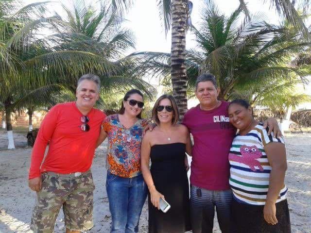 Glória Pires e o marido Orlando Morais visitam o Piauí (Crédito: Reprodução)