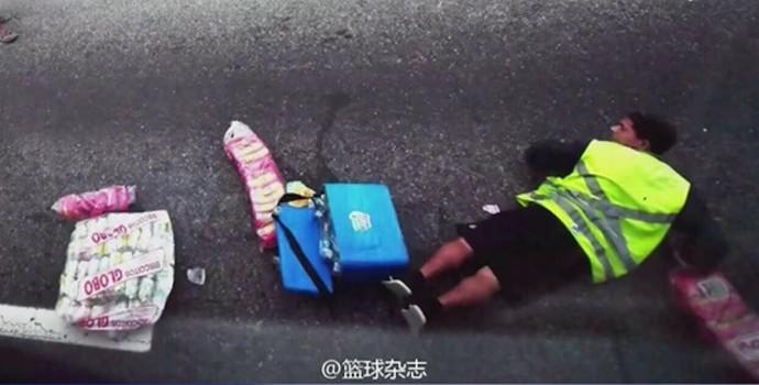 Time de basquete da China fica em meio a tiroteio no Rio de Janeiro (Crédito: Reprodução)
