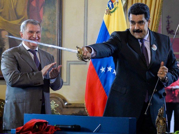 Presidente da Venezuela, Nicolas Maduro (Crédito: Reprodução)