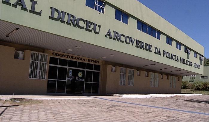 Hospital da Polícia Militar (Crédito: Reprodução)