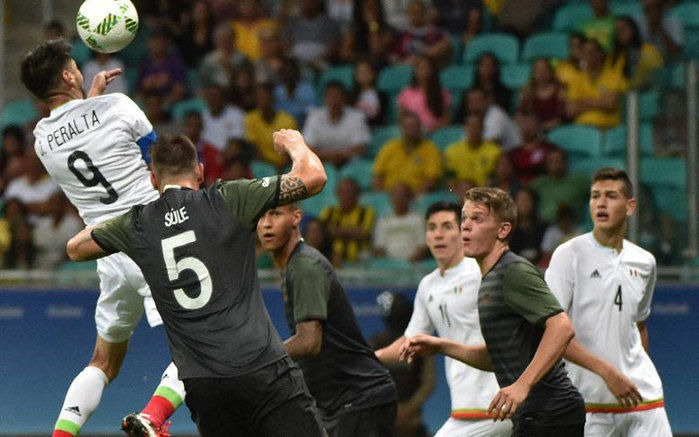 México e Alemanha  (Crédito: AFP)