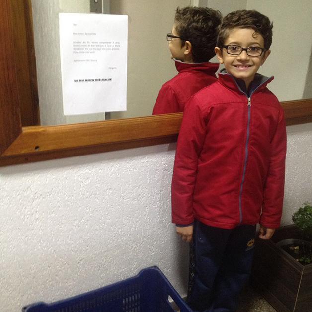 Samuel Reis, de 9 anos (Crédito: Reprodução)