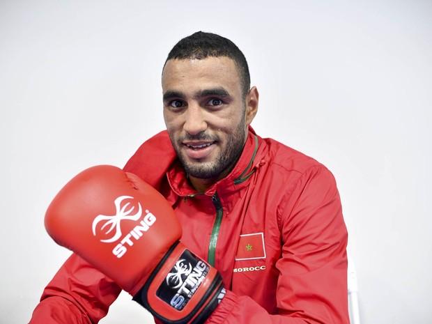 Atleta marroquino Hassan Saada