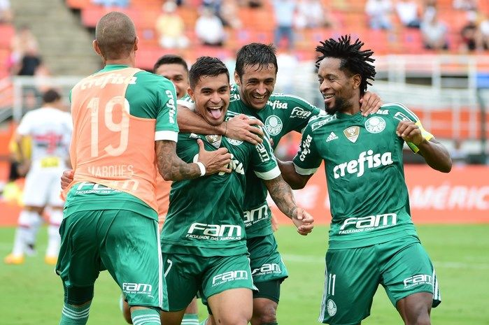 Palmeiras pode ser campeão do 1º turno pela primeira vez (Crédito: Reprodução)