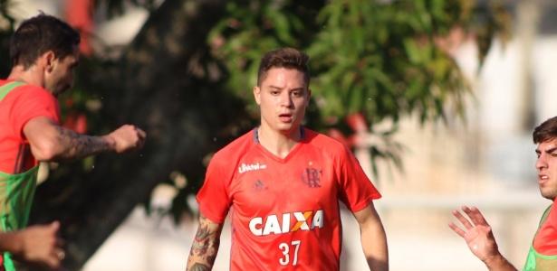 Promessa avaliada em R$ 30 milhões ganha sobrevida no Flamengo (Crédito: Reprodução)