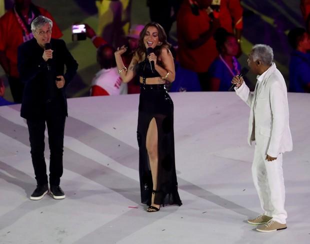 Caetano, Anitta e Gilberto Gil