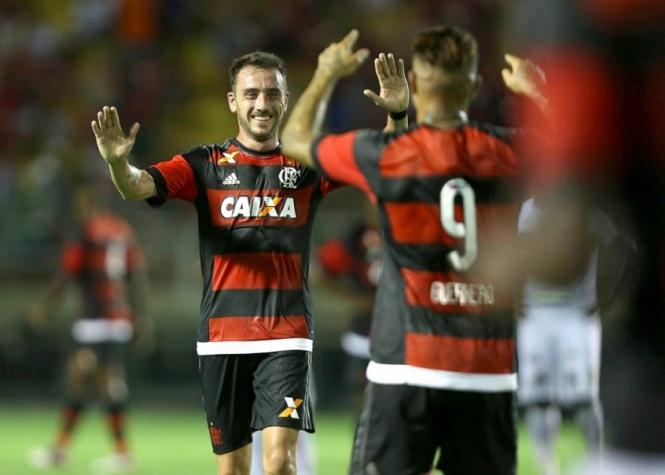 Mancuello fez gol de letra (Crédito: Divulgação)