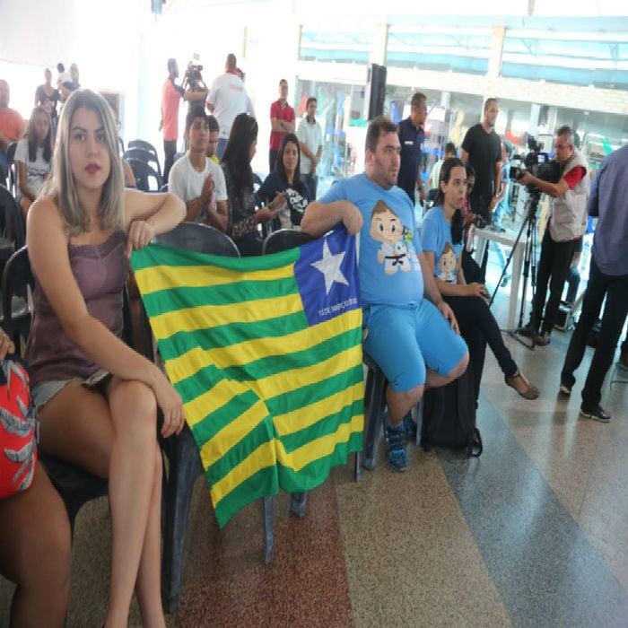 Amigos e familiares estão no Sesc torcendo por Sarah Menezes