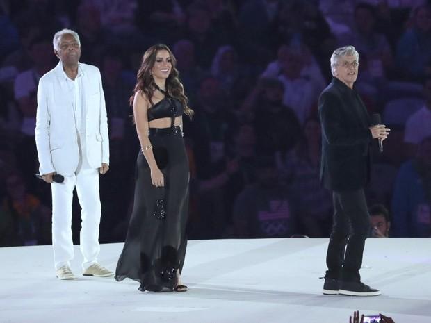 Gil, Anitta e Caetano