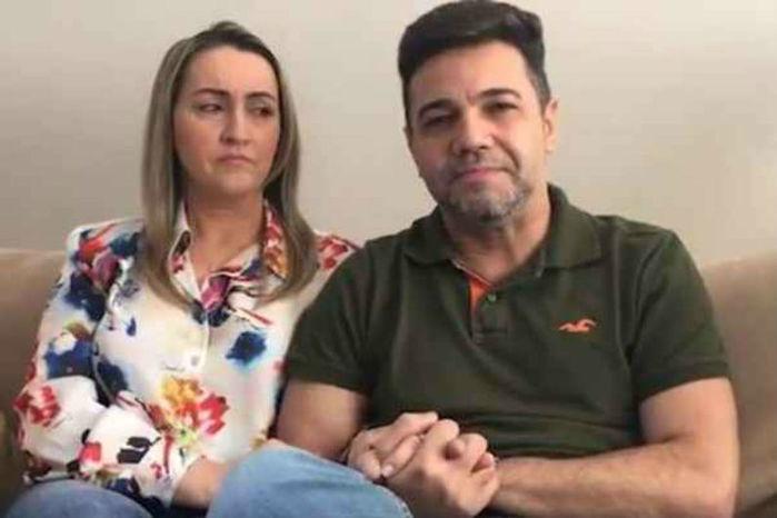 Pastor Marco Feliciano e sua esposa