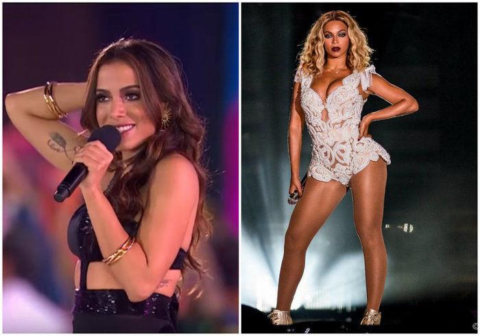 Anitta é comparada à Beyoncé por jornal americano (Crédito: Reprodução)