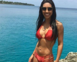 Amanda Djehdian posta em rede social foto exibindo sua boa forma