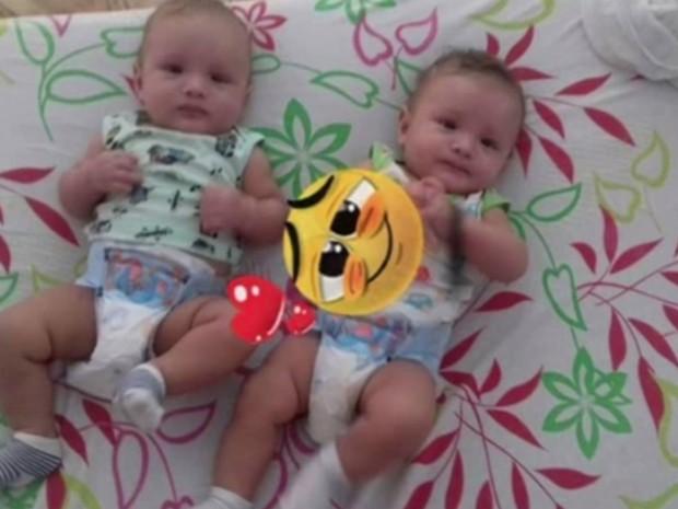 Polícia investiga morte de gêmeos de 11 meses, em Goiás  (Crédito: Reprodução)