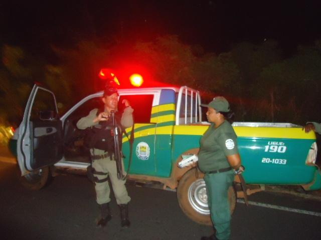 Polícia Militar fez o isolamento (Crédito: Reprodução)