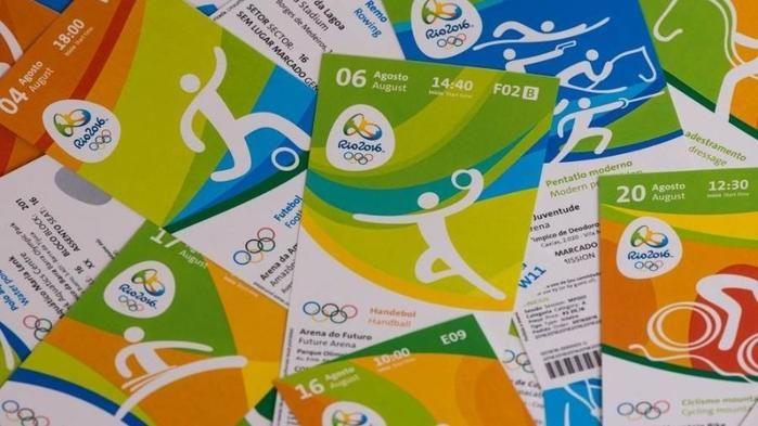 Venda de ingressos nas Olimpíadas (Crédito: Reprodução)