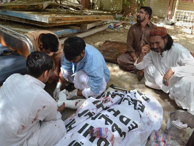 Ataque no Paquistão (Crédito: Reprodução)