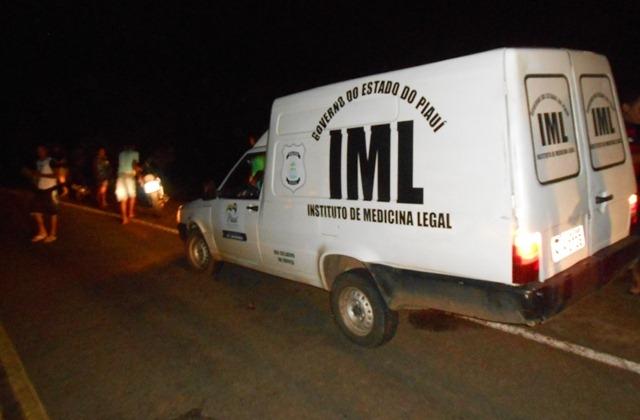 IML foi acionado até o local (Crédito: Reprodução)