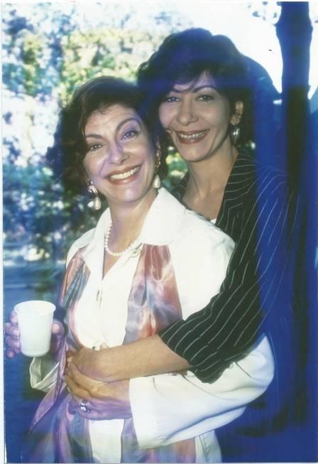 As irmãs Marília e Sandra (Crédito: Extra)