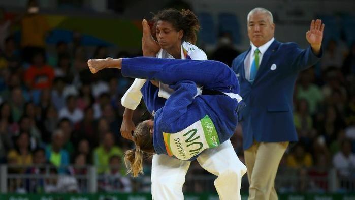 Rafaela Silva derrota Hedvig Karakas
